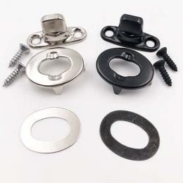 Common Sense Turnbuckle Fastener Fabric to Hard Surface 2 Screw Base Stud With Eyelet & Screw Kits