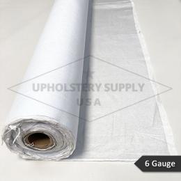 Clear Vinyl Plastic - 6 Gauge